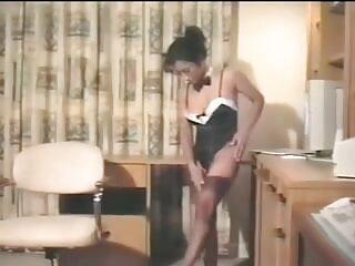 हॉट FUCK # 46 (कार्यालय इंग्लिश की सेक्सी मूवी में बड़े प्राकृतिक स्तन के साथ BBW)